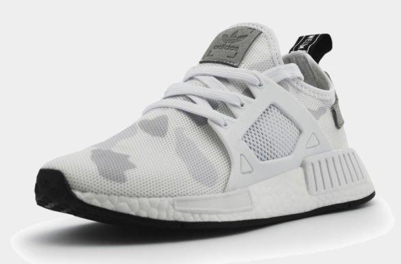 Adidas NMD XR1 White Camo белые камуфляжные