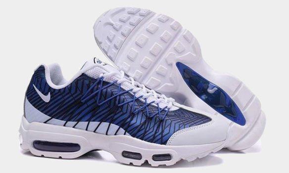 Фото Nike Air Max 95 Ultra Jacquard Royal синие - 3